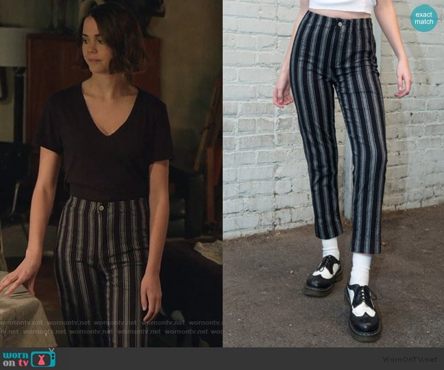 Tilden Pants by Brandy Melville worn by Callie Foster (Maia Mitchell) on Good Trouble