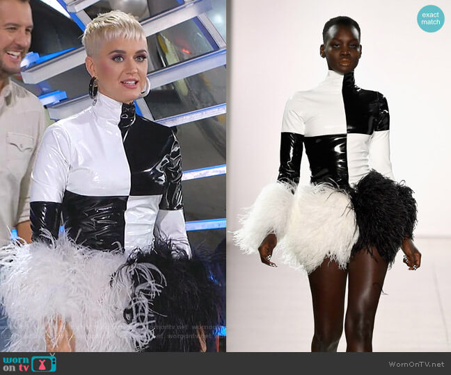 all 2018 Collection by Christian Cowan worn by Katy Perry  on American Idol