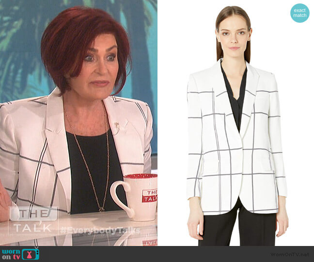 James Blazer by Equipment worn by Sharon Osbourne (Sharon Osbourne) on The Talk