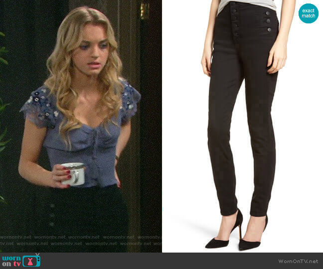 J Brand Natasha Jeans worn by Claire Brady (Olivia Keegan) on Days of our Lives