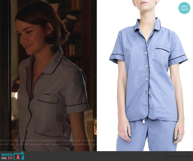 Vintage Cotton Pajamas by J. Crew worn by Callie Foster (Maia Mitchell) on Good Trouble