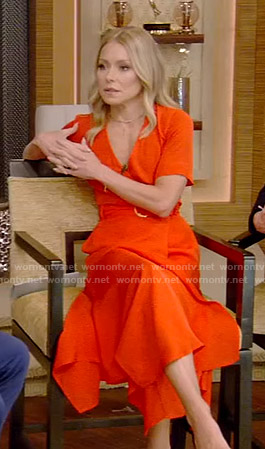 Kelly Ripa Fashion On Live With Kelly And Ryan Kelly