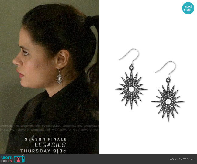 Lucky Brand Starburst Drop Earrings  worn by Mel Vera (Melonie Diaz) on Charmed