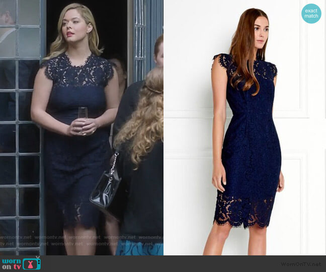 Suzette Dress  by Rachel Zoe worn by Alison DiLaurentis (Sasha Pieterse) on PLL The Perfectionists