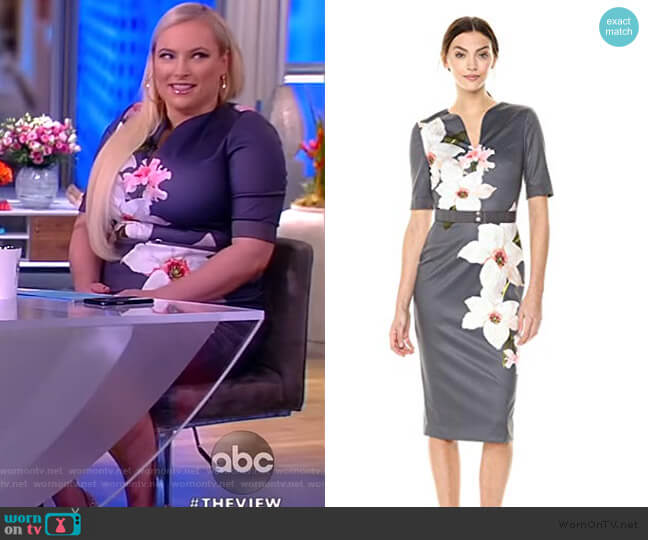 Bisslee Dress by Ted Baker worn by Meghan McCain  on The View