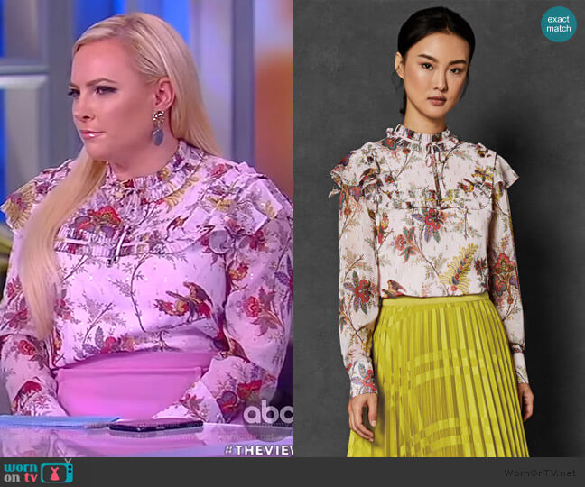 Millies top by Ted Baker worn by Meghan McCain  on The View