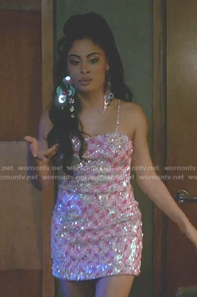 Treasure's sequin mini dress on Empire