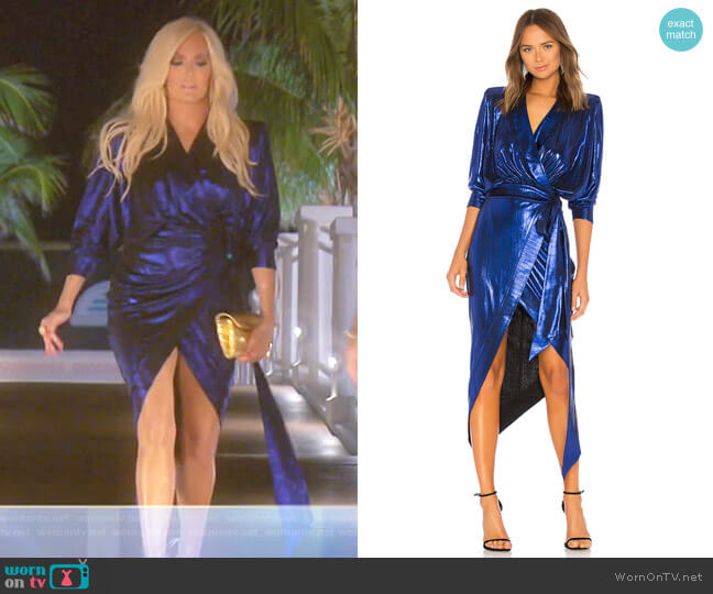 Picture This Dress by Zhivago worn by Erika Girardi  on The Real Housewives of Beverly Hills