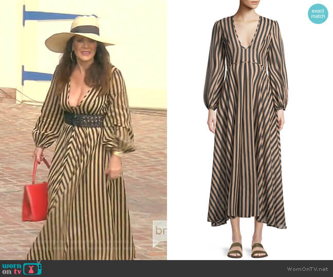 Jaya Dress by Zimmermann worn by Lisa Vanderpump  on The Real Housewives of Beverly Hills