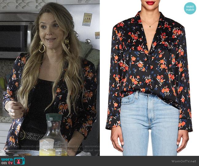 ALC Leomie Shirt worn by Sheila Hammond (Drew Barrymore) on Santa Clarita Diet