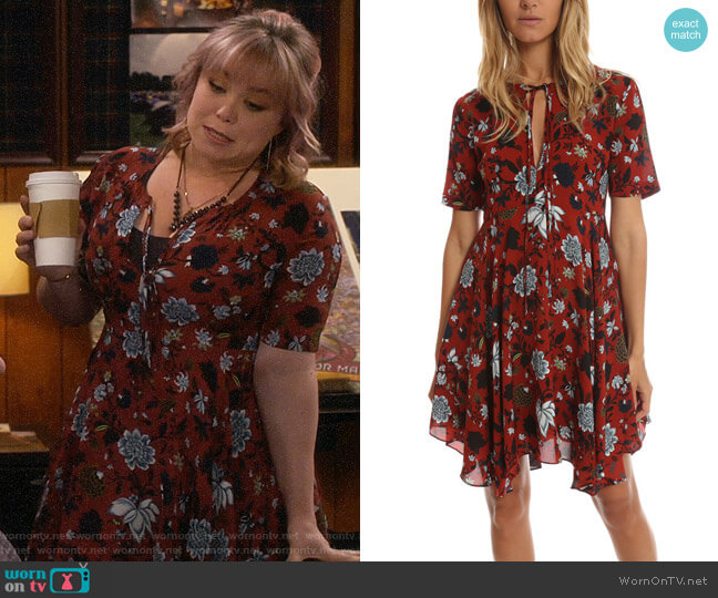 A.L.C. Sosta Dress worn by Kristin Baxter (Amanda Fuller) on Last Man Standing
