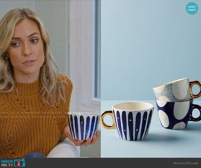 Anthropologie Yesteryear Mugs worn by Kristin Cavallari  on Very Cavallari