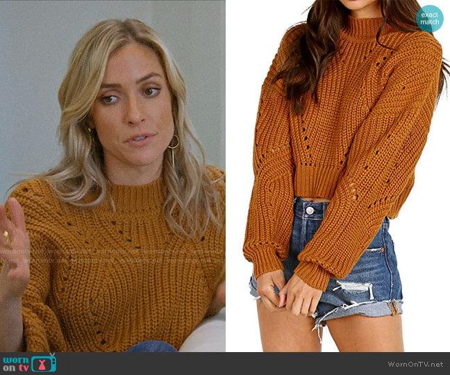 ASTR Carly Sweater worn by Kristin Cavallari  on Very Cavallari