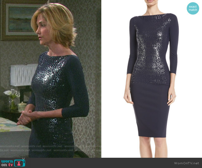 Chiara Boni La Petite Robe Liepa Dress worn by Eve Donovan (Kassie DePaiva) on Days of our Lives