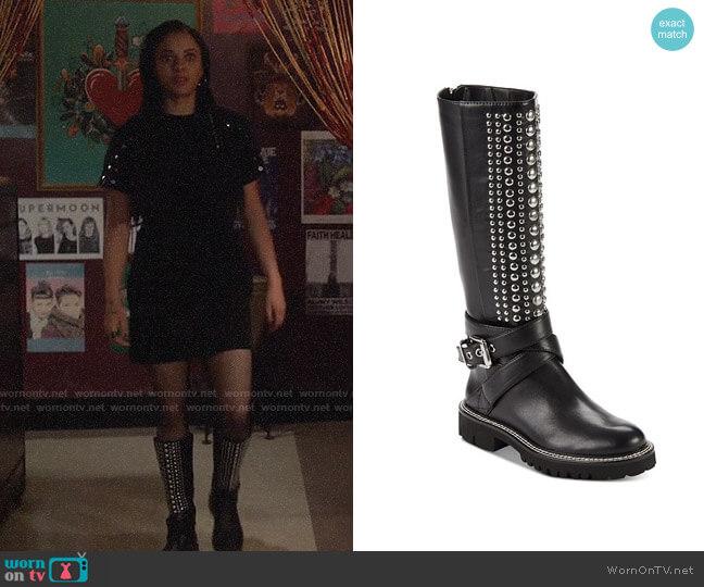 DKNY Babz Knee High Boots worn by Jada Shields (Aleyse Shannon) on Charmed