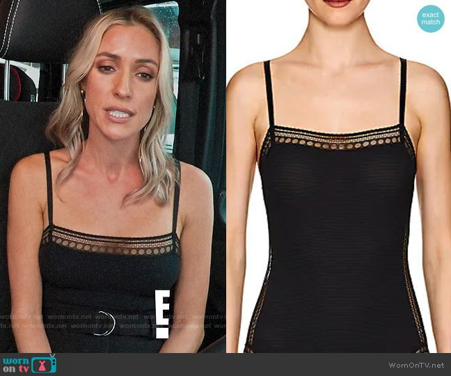 Eres Whaouu Lace-Trimmed Bodysuit worn by Kristin Cavallari  on Very Cavallari