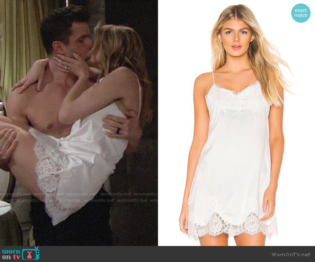 Homebodii Olivia Slip worn by Summer Newman (Hunter King) on The Young & the Restless
