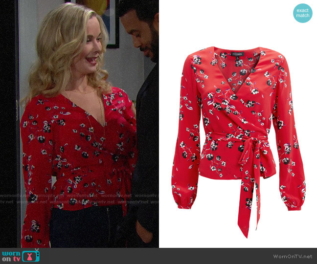 Intermix Devon Top worn by Donna Logan (Jennifer Gareis) on The Bold & the Beautiful