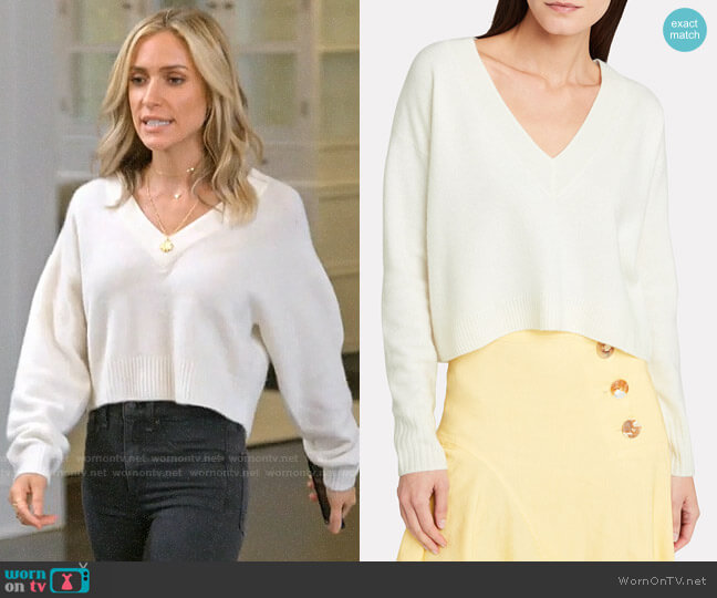 Intermix Elroy Sweater worn by Kristin Cavallari  on Very Cavallari