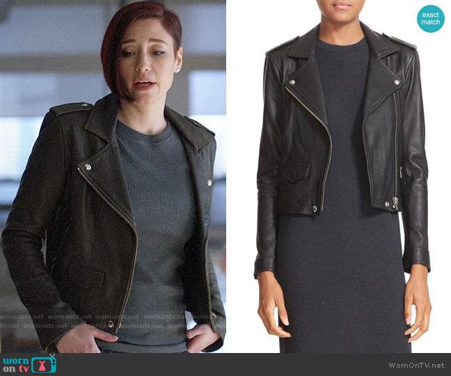 IRO Ashville Jacket worn by Alex Danvers (Chyler Leigh) on Supergirl