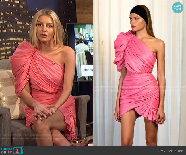 SS 2019 Collection by Kalmanovich worn by Morgan Stewart  on E! News