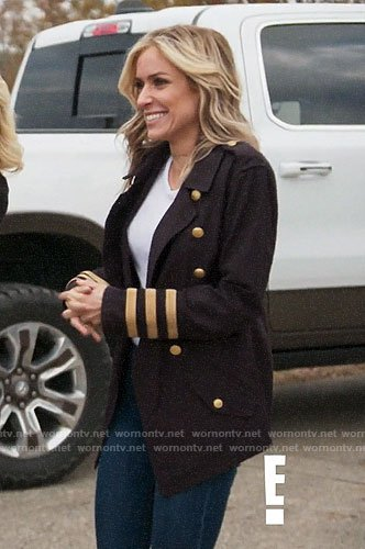 Kristin's military jacket on Very Cavallari