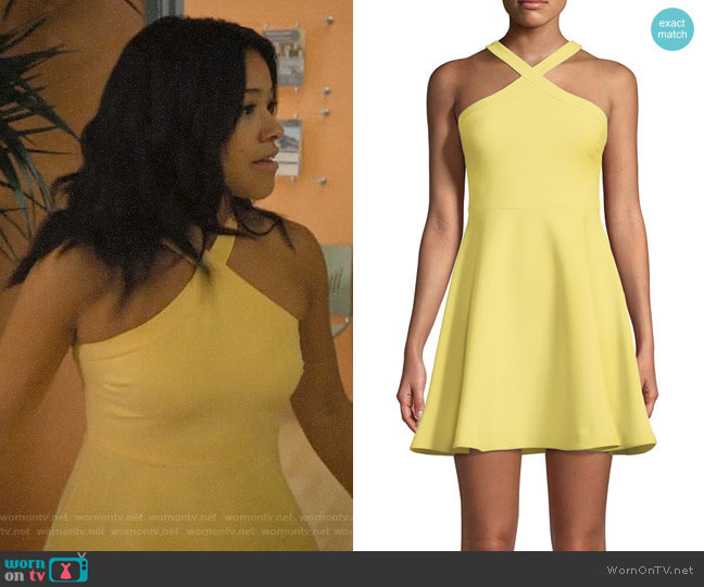 Likely Ashland Dress worn by Jane Villanueva (Gina Rodriguez) on Jane the Virgin