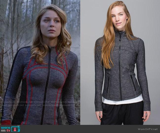 Lululemon Define Jacket worn by Kara Danvers (Melissa Benoist) on Supergirl