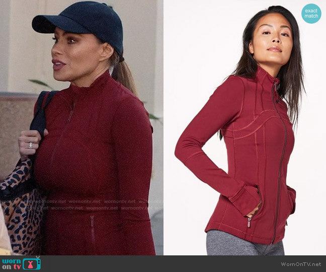 Lululemon Define Jacket worn by  Gloria Pritchett (Sofia Vergara) on Modern Family