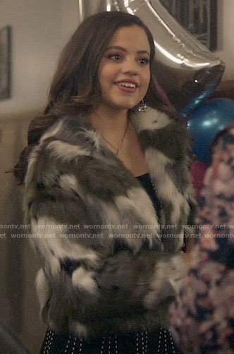 Maggie's fur jacket on Charmed