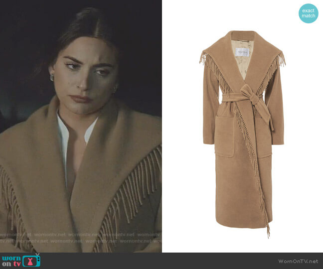Pacos Coat by Max Mara worn by Cristal Jennings (Daniella Alonso) on Dynasty