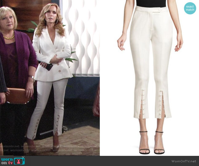 Misha Collection Sally Cropped Pants worn by Lauren Fenmore (Tracey Bregman) on The Young & the Restless