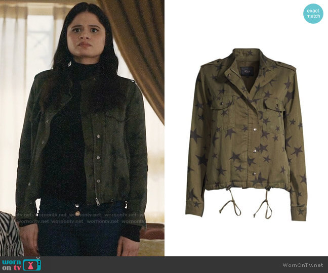 Rails Collins Jacket worn by Mel Vera (Melonie Diaz) on Charmed