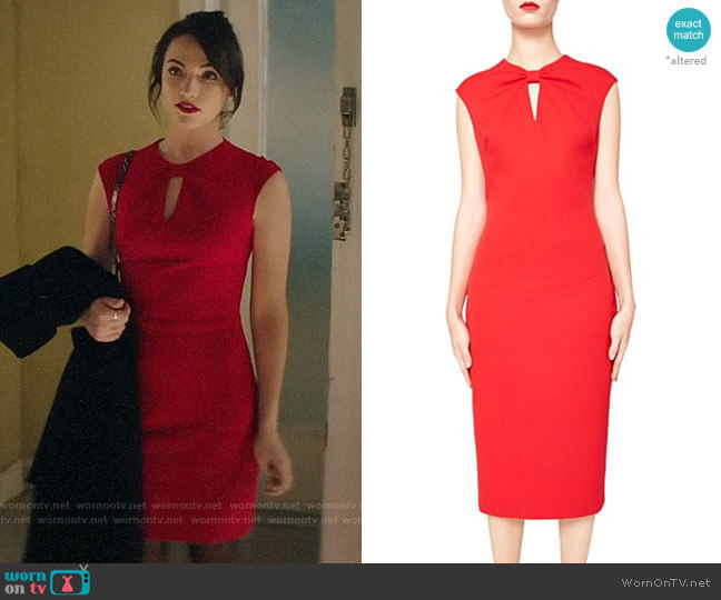 Ted Baker Kezzia Dress worn by Cara Bloom (Violett Beane) on God Friended Me