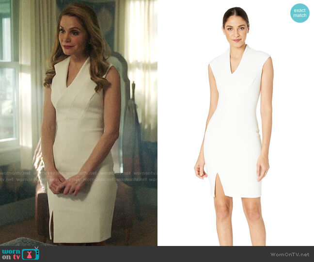 Ted Baker Geodese Narnia Dress  worn by Charity (Virginia Williams) on Charmed