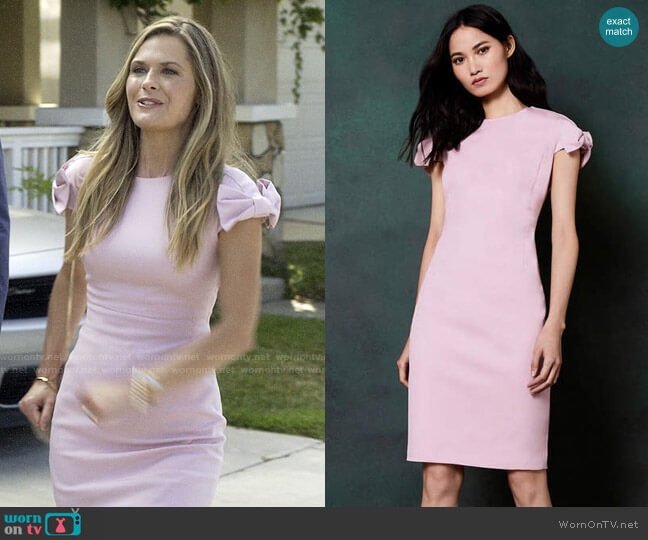 Ted Baker Toplyd Dress worn by Christa on Santa Clarita Diet