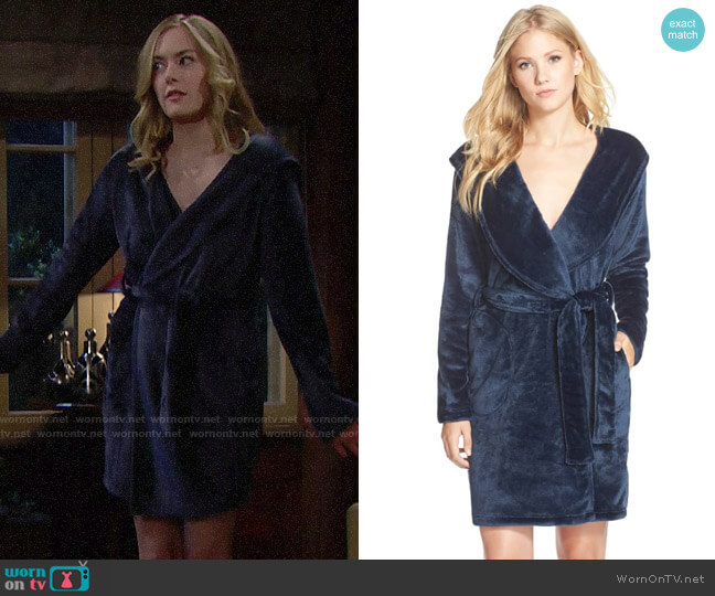 UGG Miranda Robe worn by Hope Logan (Annika Noelle) on The Bold & the Beautiful