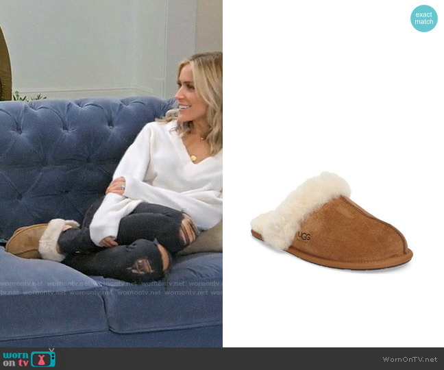 UGG Scuffette Slippers worn by Kristin Cavallari  on Very Cavallari