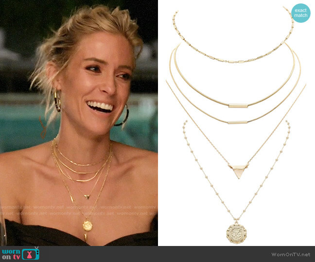 Uncommon James Better On You, Tennessee, Blush, and Atocha Necklaces worn by Kristin Cavallari  on Very Cavallari