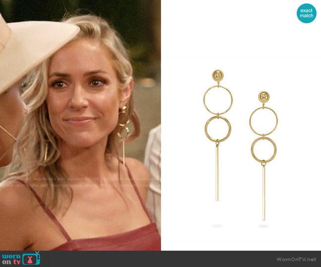 Uncommon James Baller Earrings worn by Kristin Cavallari  on Very Cavallari