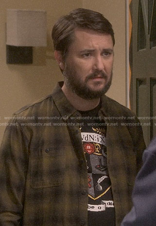 Wil Wheaton's Don't Be a Dick t-shirt on The Big Bang Theory