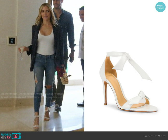Alexandre Birman Clarita Sandals worn by Kristin Cavallari (Kristin Cavallari) on Very Cavallari