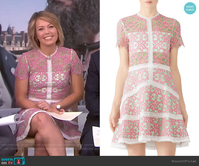 Rustikan Dress by Alexis worn by Dylan Dreyer  on Today