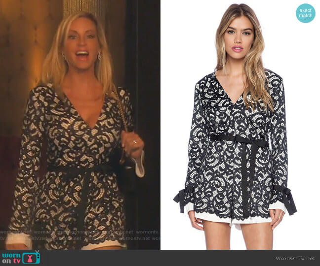 Aine Romer by Alexis worn by Camille Grammer  on The Real Housewives of Beverly Hills