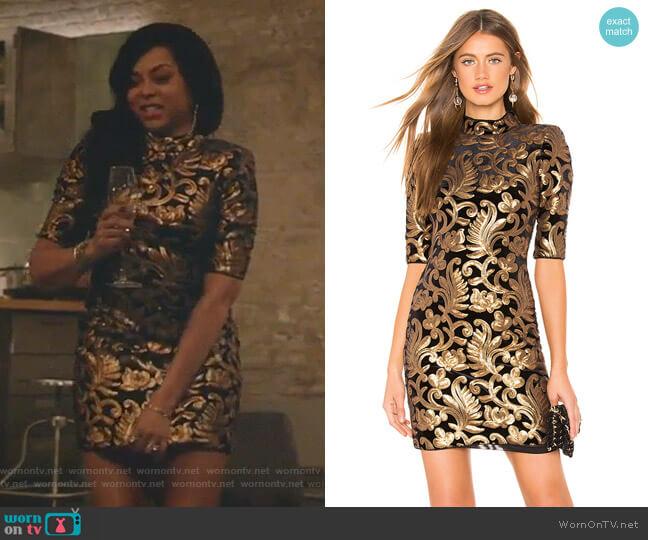 Inka Dress by Alice + Olivia worn by Cookie Lyon (Taraji P. Henson) on Empire