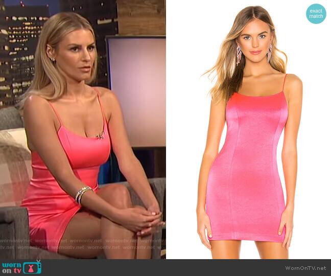 Nelle Mini Dress by Alice + Olivia worn by Morgan Stewart (Morgan Stewart) on E! News