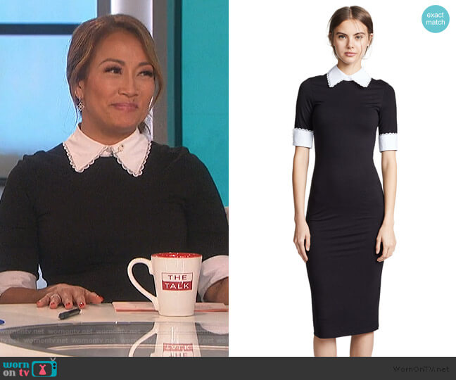 Delora Dress by Alice + Olivia worn by Carrie Inaba  on The Talk