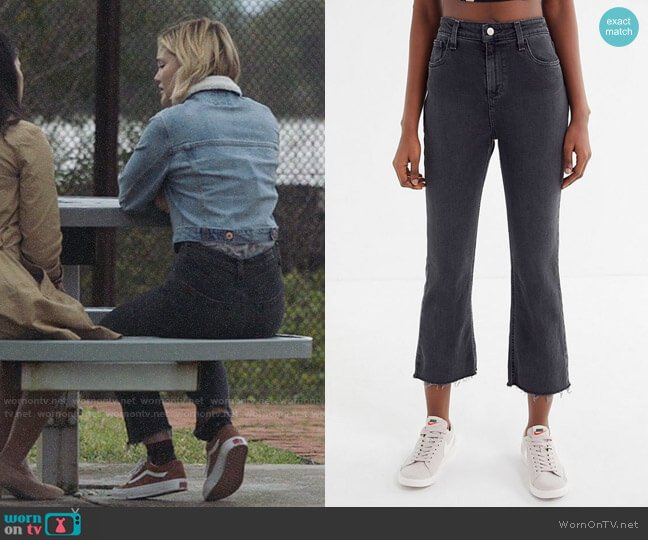 BDG High-Rise Cropped Kick Flare Jean worn by Tandy Bowen (Olivia Holt) on Cloak & Dagger