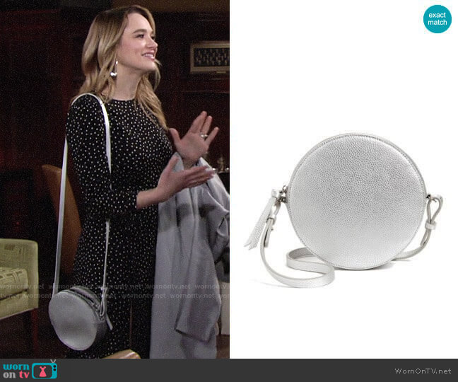Chelsea28 Cassie Faux Leather Crossbody Bag worn by Summer Newman (Hunter King) on The Young & the Restless