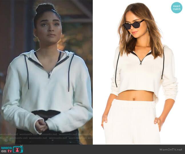 Brooklyn Hoodie by Cotton Citizen worn by Simone Davis (Brittany O'Grady) on Star